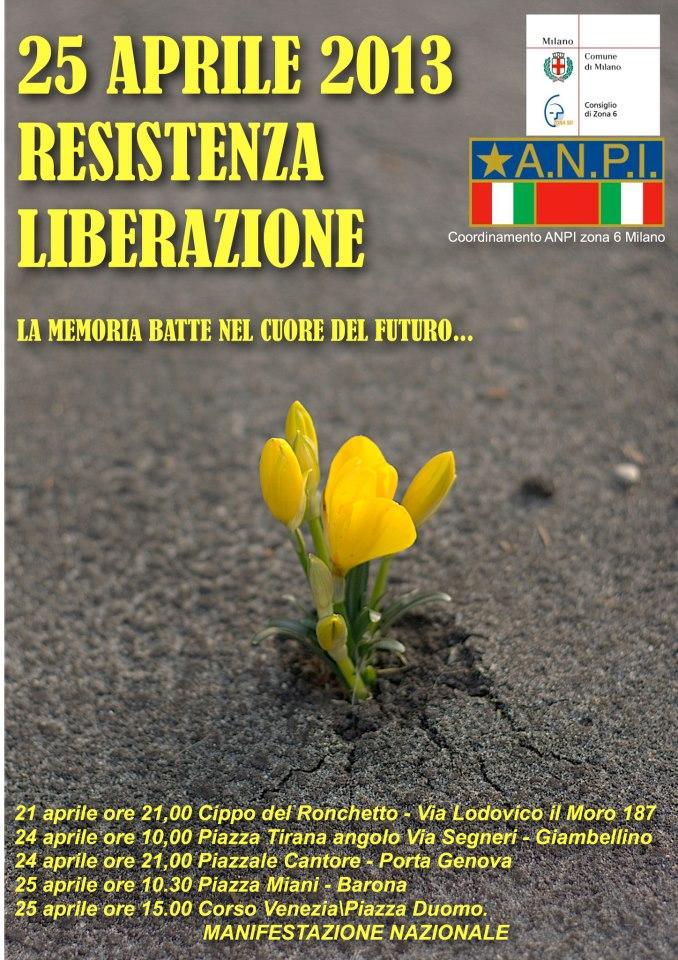 25 Aprile  2013 Zona 6